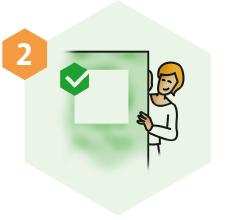 Stap 2. Gratis proefoppervlakte aanbrengen